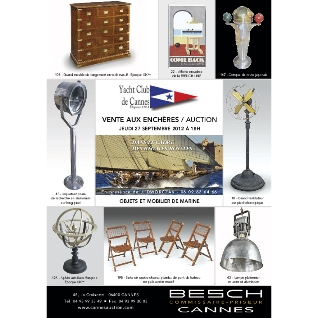 past auction of9/27/12