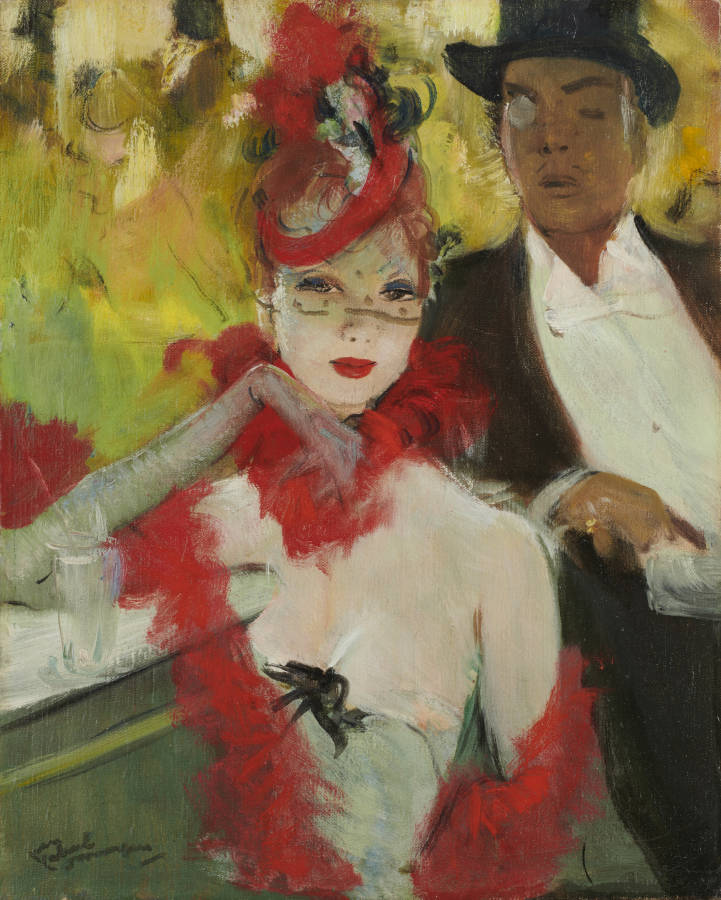 Domergue Couple Place Pigalle