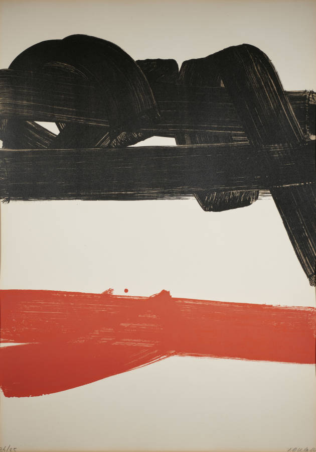 Pierre Soulages Litho 27