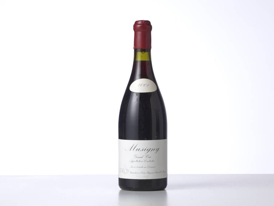1 Bouteille Musigny 2001 Domaine Leroy