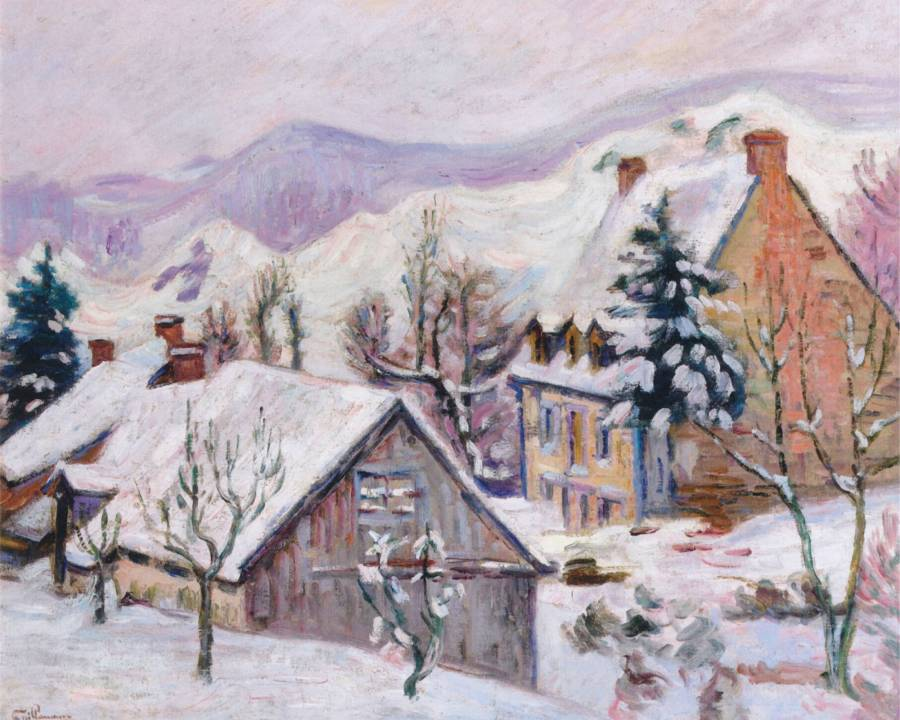 Armand GUILLAUMIN Village de Saint-Sauves