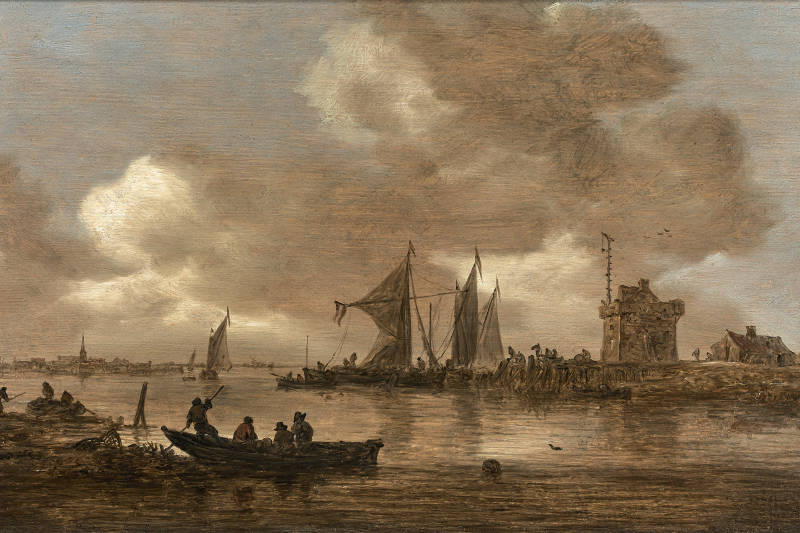 A painting by Van Goyen awarded at 106000€ - Nice Matin