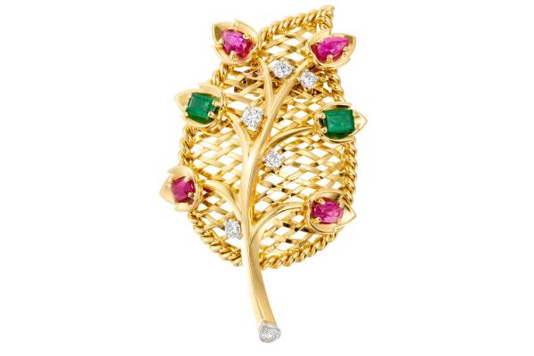 Broche signée Cartier Paris