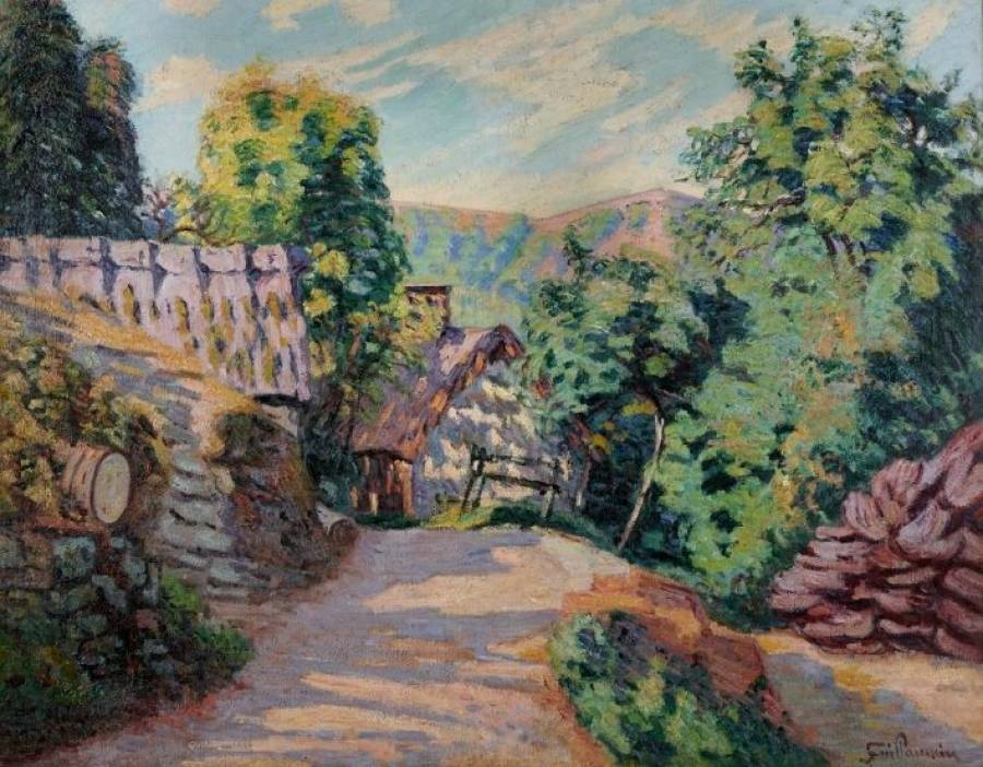 A GUILLAUMIN Pontgibaud