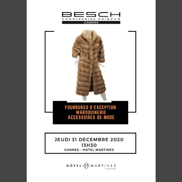 Catalogue de la vente du 31/12/2020